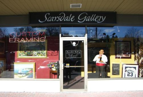 Scarsdale Gallery Storefront in Westchester NY